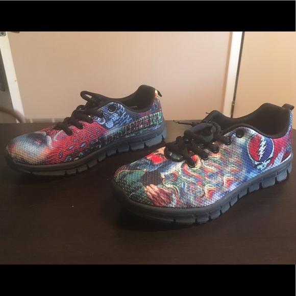 3b3a523e6e09 Grateful Dead Tennis Shoes. M 5aefba13a825a6a48c4c7113